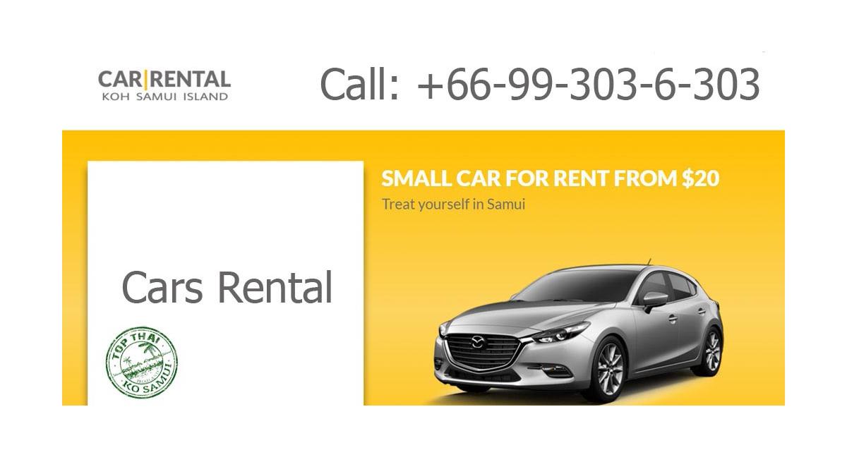 Samui Car Rental Big Car Park For Rent Near Airport Koh Samui