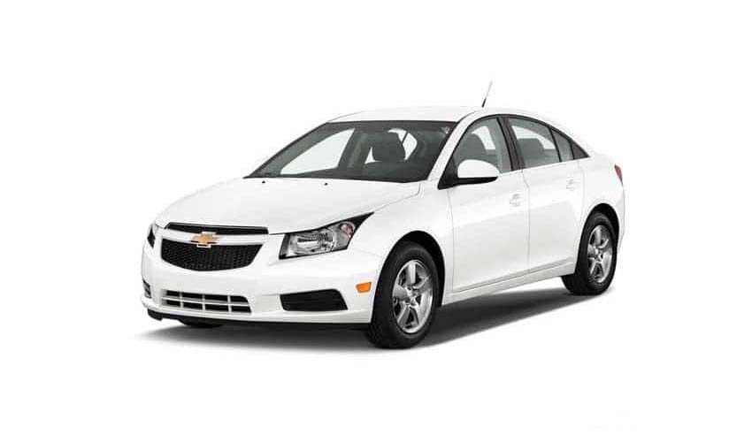 Car Chevrolet Cruze for rent in Samui rental
