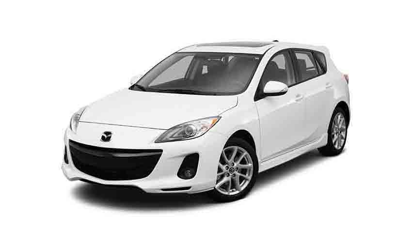Vehicle Mazda 3 for rent in Samui