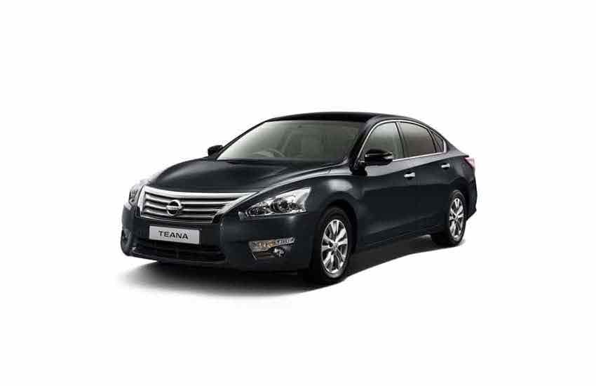 Vehicle Nissan Teana for rent in Samui