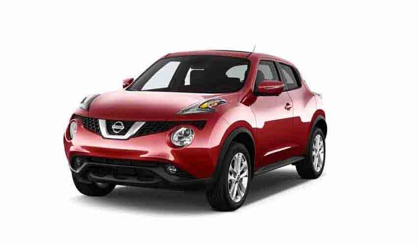 Vehicle Nissan Juke for rent in Samui