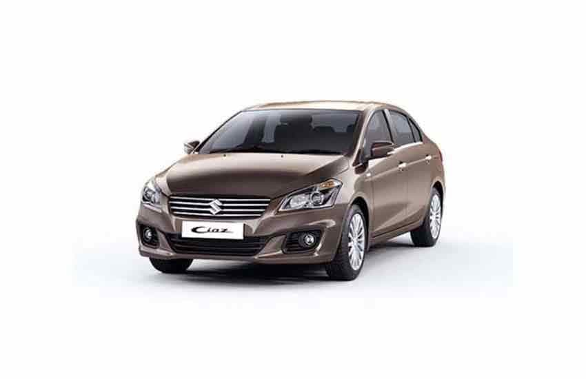 Vehicle Suzuki Ciaz for rent in Samui