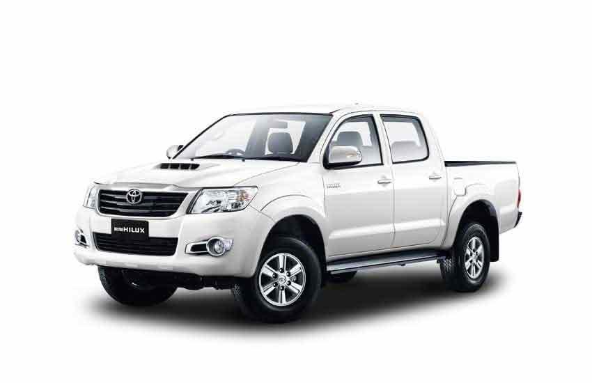 Аренда пикапа Toyota Hilux в прокате на Самуи